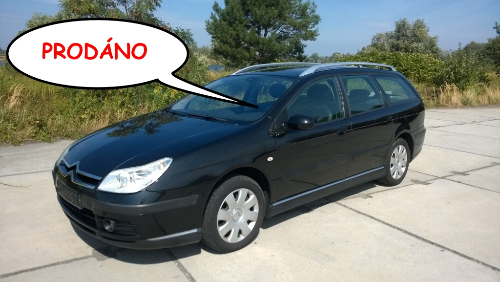 Citroen C5 BREAK 2.0 16V LPG 103 KW